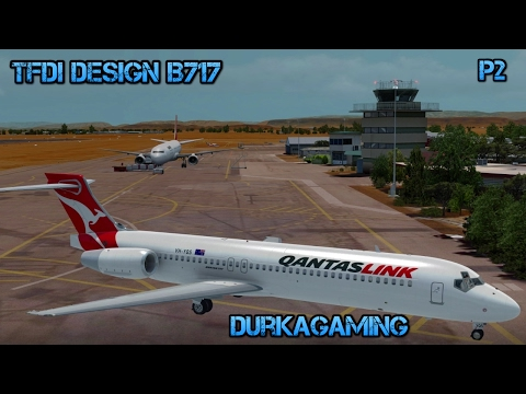 P3D - TFDI Design B717-Alice Springs/Ayers Rock-YBAS/YAYE - Part 2a