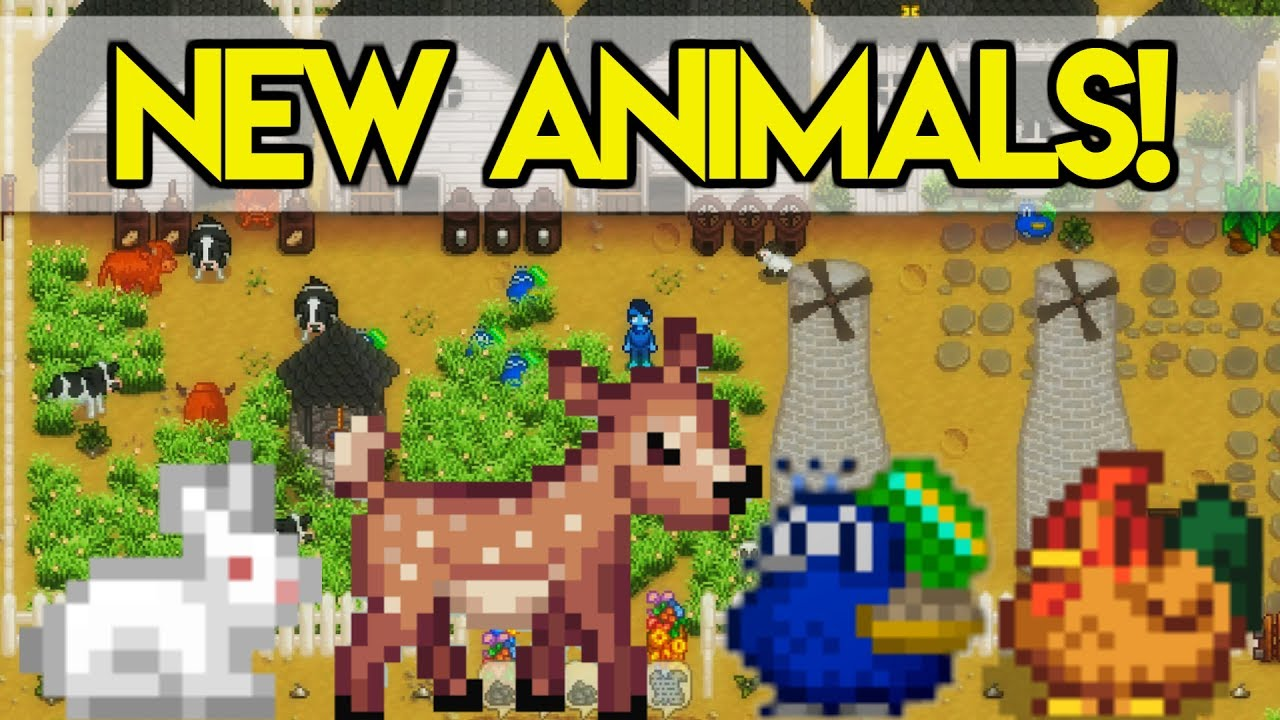 How To Get Hearts With Animals In Stardew Valley