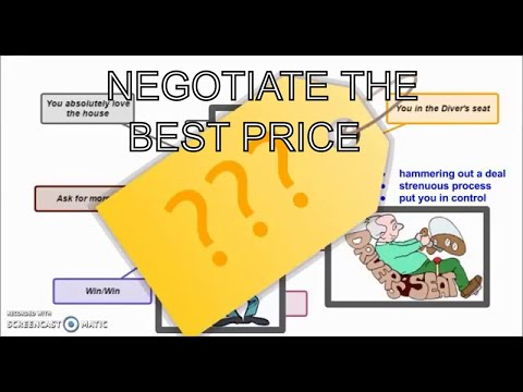 How To Negotiating Tips To Get The Best Price For a Home