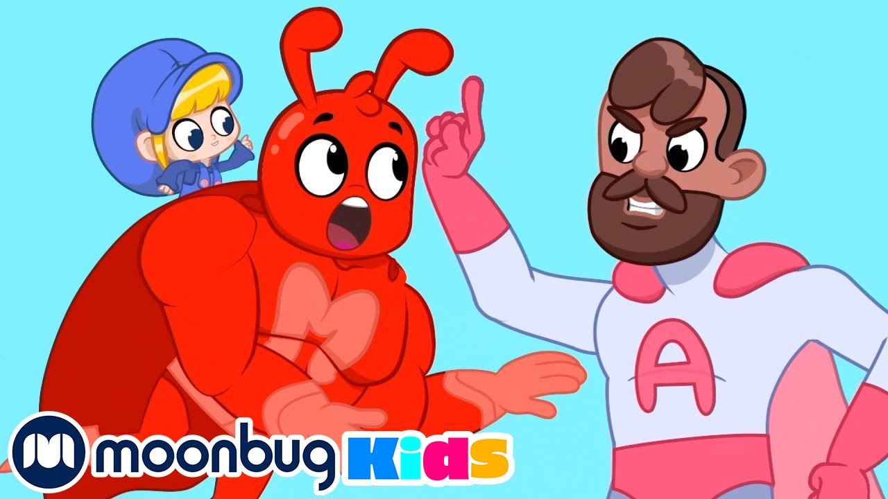 Birthday Cake Chase with Orphle + Morphle TV | Cartoons For Kids | Videos For Kids | Moonbug Kids