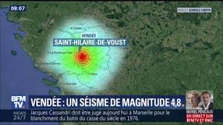 Séisme en Vendée: