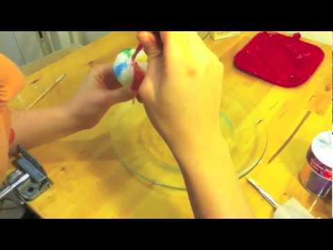 How To Make A Beach Ball Cake Pop YouTube