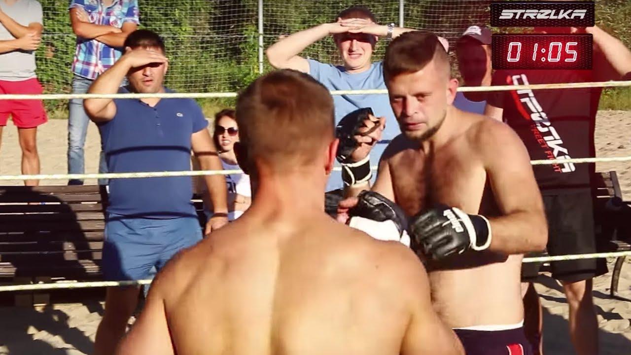 Отличный бой двух настоящих Боксеров !!!!