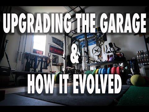 GARAGE GYM UPGRADE & HOW IT EVOLVED