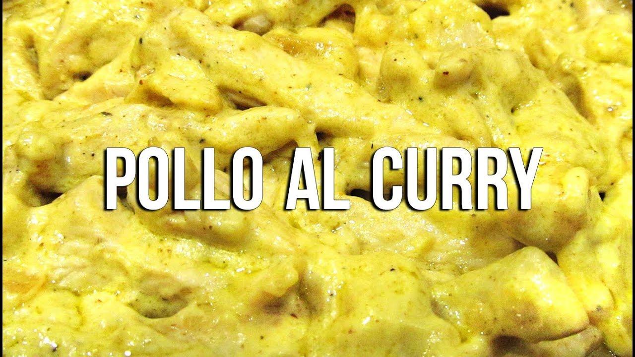 Pollo al curry youtube for Como cocinar filetes de pollo