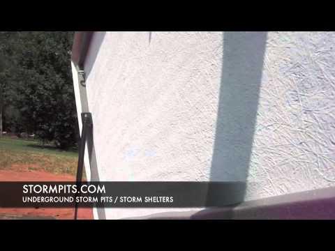 Alabama Fiberglass Underground Storm Shelter