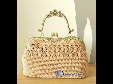 Crochet Patterns For Crochet Bag Pattern Diagram 2285 Youtube
