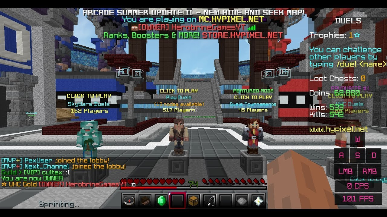 Hypixel Admin takes us to the NETHER!!?!   Hypixel Admin Abuse