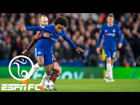 Chelsea earns hard-fought 1-1 Champions League draw vs. Barcelona | ESPN FC