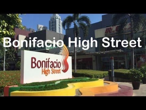 Bonifacio High Street Walking Tour Bonifacio Global City Taguig Manila by HourPhilippines.com
