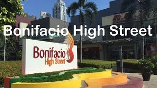 Bonifacio High Street Walking Tour Bonifacio Global City Taguig Manila by HourPhilippines.com