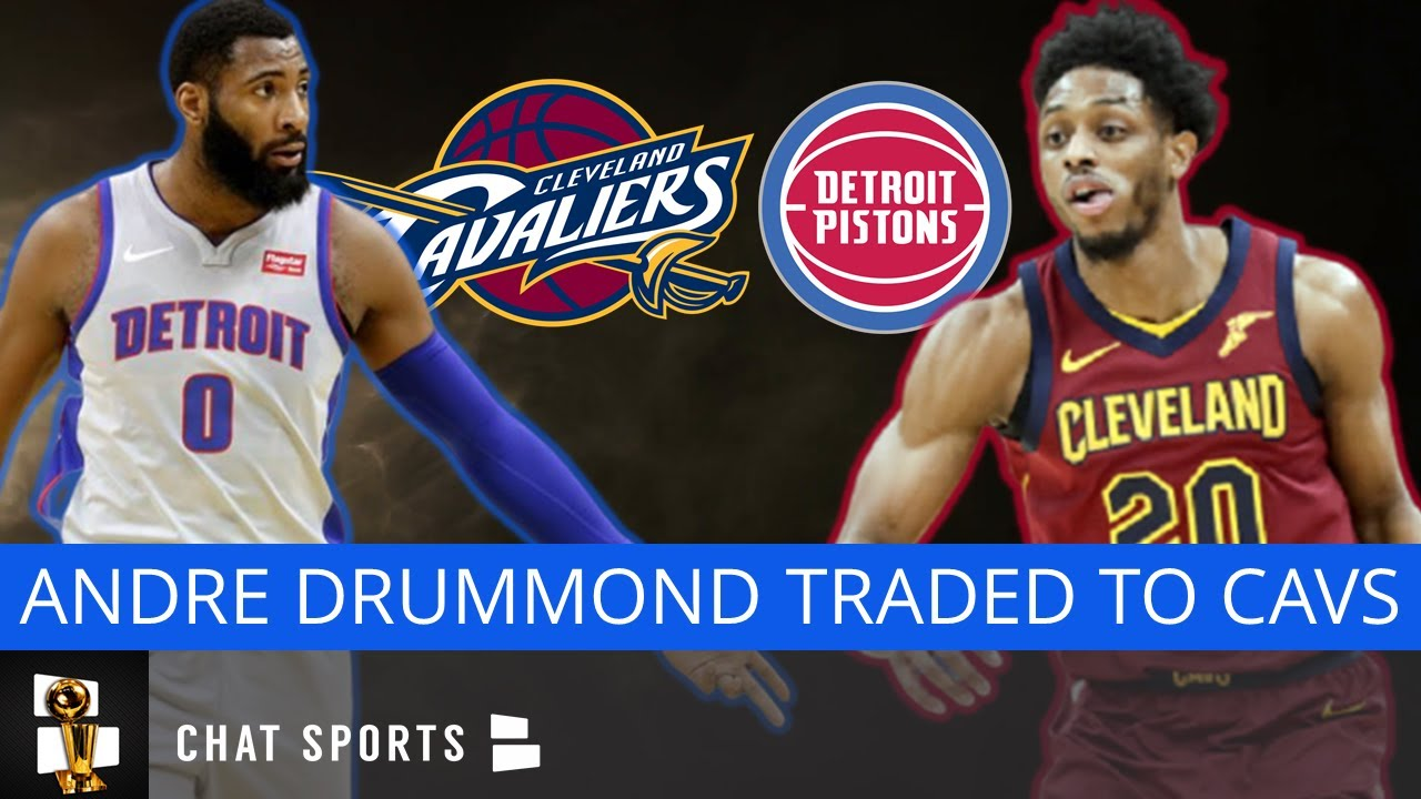 NBA trade deadline day: Pistons' Andre Drummond traded to ...
