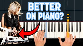 50 Famous Guitar Riffs Played on The Piano! | HDpiano Performance