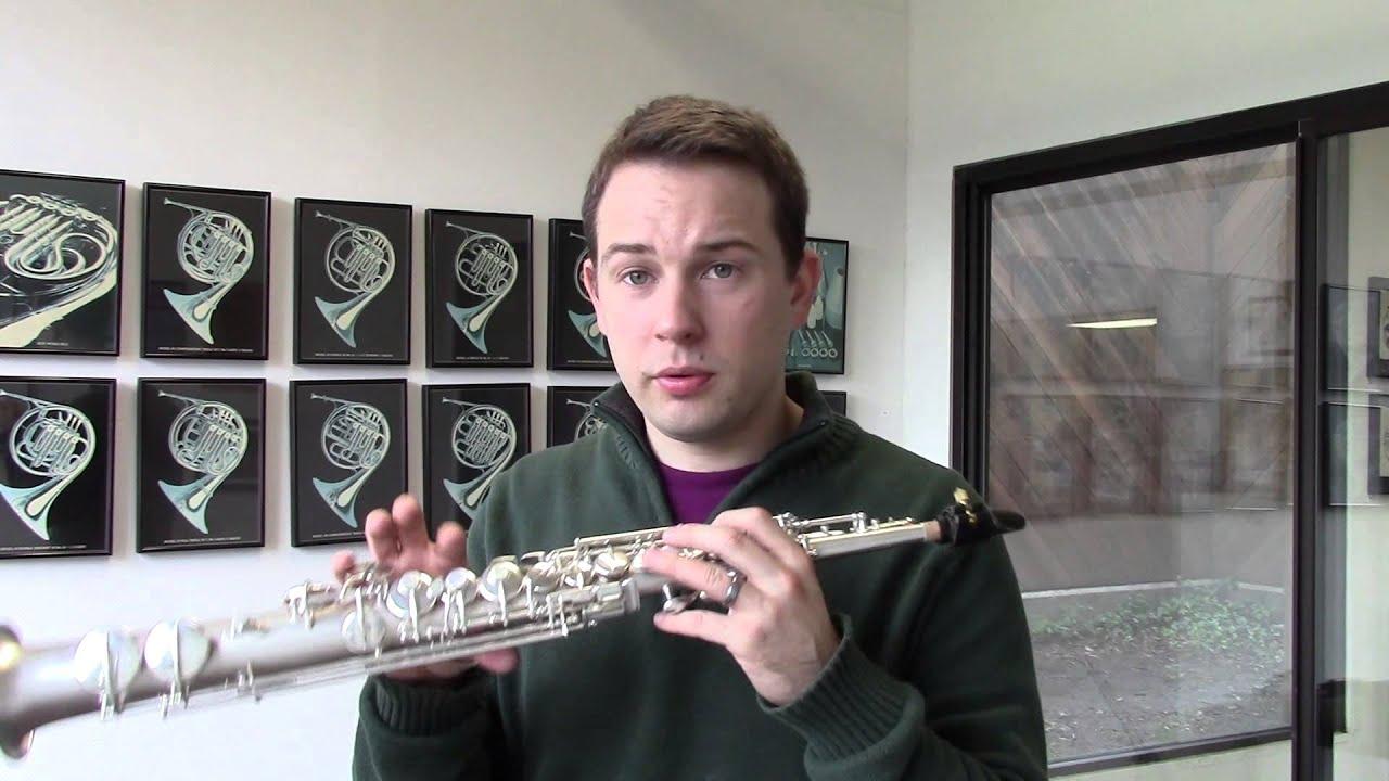 C G  Conn Straight B-Flat Soprano Sax (1924) Demo, Wichita Band Instrument  Co