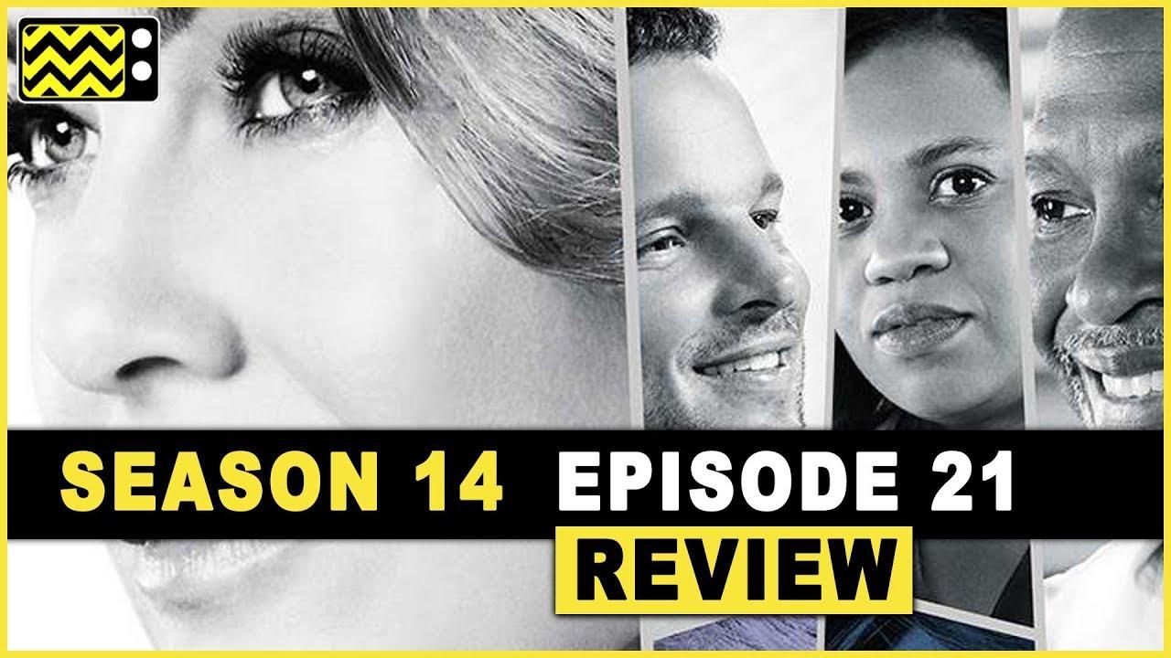 Greys Anatomy Season 14 Episode 21 Review Reaction Afterbuzz Tv