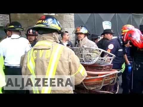Girls killed as fire engulfs Guatemala child shelter