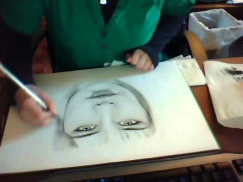 Dry Brush Painting Technique Portraits