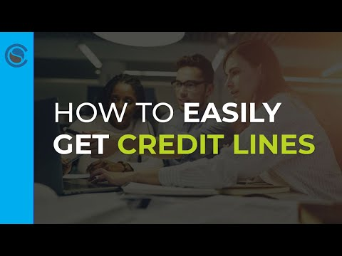 """How to Easily Get Credit Lines for your Business Even When Banks Say """"No"""""""