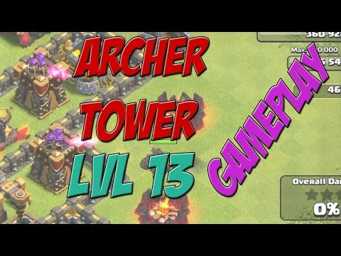 Archer Tower Level 13 Gameplay & Frequently Asked Questions