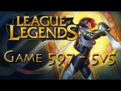 LoL Game 597 - 5v5 - Fiora - 1/2