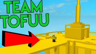 PLAYING AS TEAM TOFUU IN ROBLOX DOOMSPIRE BRICKBATTLE