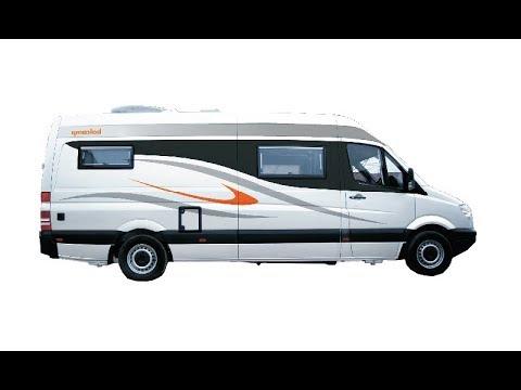 Mercedes Camper Van Conversion Balcamp SM710