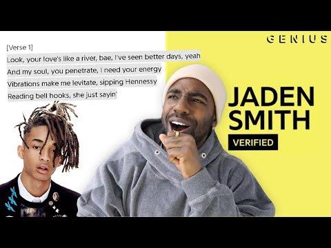 """JADEN SMITH - """"Fallen"""" OFFICIAL LYRICS & MEANING"""
