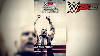 UPLOAD PHOTOS TO WWE 2K16 FROM YOUR PHONE! - WWE 2K16 Creation Studio App(Enjoy what you see? Consider clicking that Thumbs Up button before you leave! New videos everyday! http://bit.ly/MoreCMPuLs3 ** Support me on Patreon: ..., 2015-10-23T23:39:02.000Z)