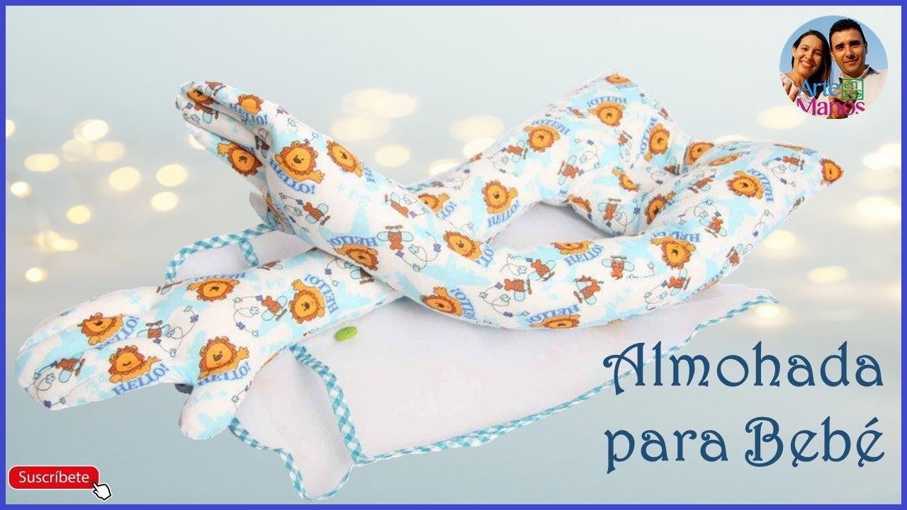 Almohada abrazadora para beb paso a paso youtube - Cambiador bebe patchwork ...