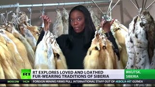 Fur & Fury: Siberian freeze dictates fashion amid anger from animal activists