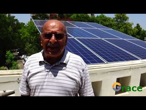Solar Industrial Rooftop System, Rooftop Solar Panels, Grace Renewable Energy