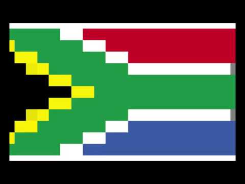 South Africa National Anthem 1998 FIFA World Cup VS Denmark VERY RARE VERSION