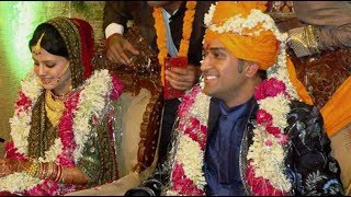 MS Dhoni and Sakshi Marriage Exclusive Video | Dhoni Marriage | Dhoni Family
