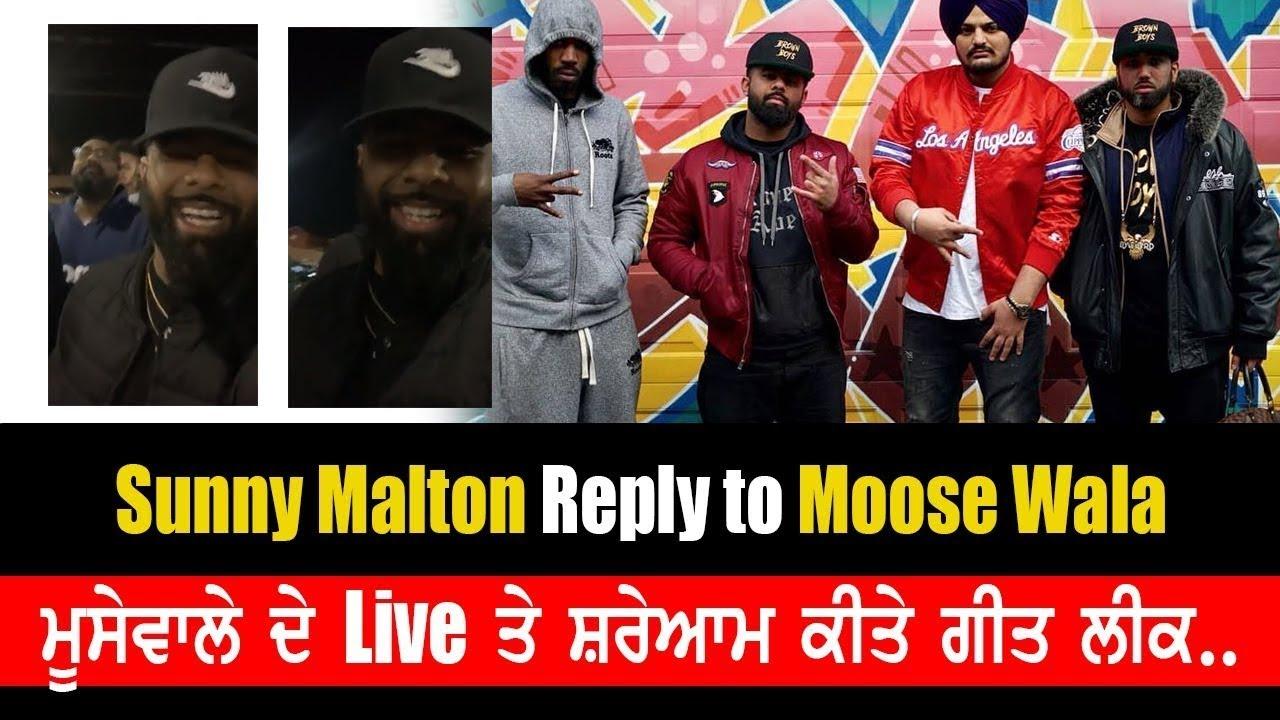 Sunny Malton & Byg Byrd Live On Sidhu Moose Wala Controversy