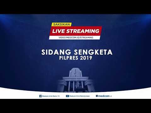 LIVE Sidang Sengketa Pilpres 2019