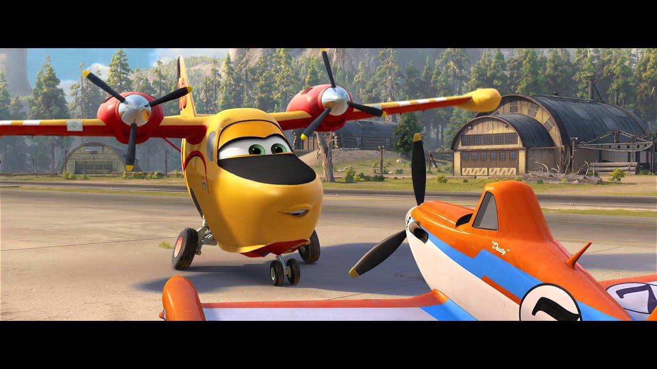 Disneys planes fire rescue trailer 1 courage youtube voltagebd Choice Image