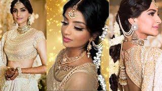 Sonam Kapoor Sangeet Wedding Makeup & Hairstyle | Nivii06