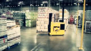 Laser Guided Vehicles at Alliance Beverage