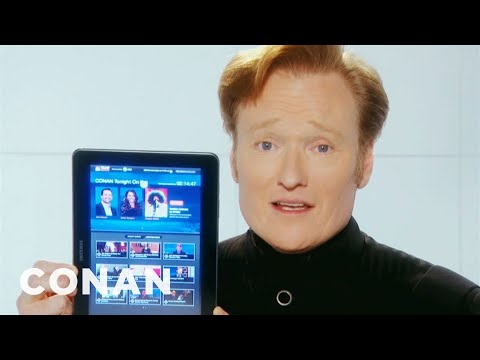The Team Coco Tablet Sync App - CONAN on TBS
