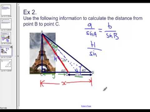 How to solve a trigonometry problem