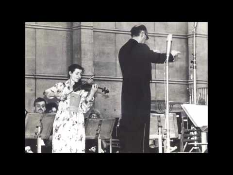 VANYA MILANOVA PLAYS ELGAR VIOLIN CONCERTO 2nd AND 3rd MOVEMENT