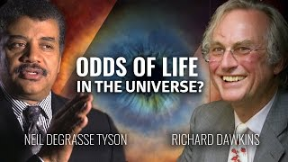 What are the odds there is life in outer space - Richard Dawkins asks Neil Degrasse tyson