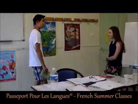 French programme for teenagers - dialogue