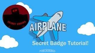 Roblox Airplane Story Endings - Secret Ending In Airplane Roblox Video Secret Ending In