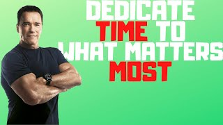 How To Dedicate Tİme To What Matters Most Be Yourself Uplift Others