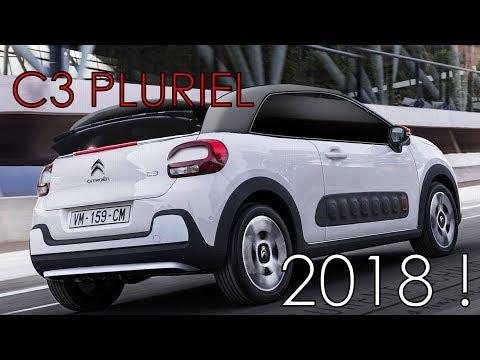 C3 PLURIEL 2018 , la C3 cabriolet !
