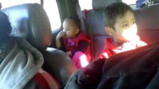 "chuukese kids car-jammin ""last friday nite"""