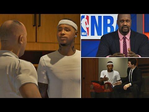 NBA 2K15 MyCAREER - DeShawn Gets TRADED!! Ernie & Shaq Talks About The Trade!