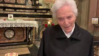 Suor Beniamina Mariani ricorda suor Maria Laura Mainetti