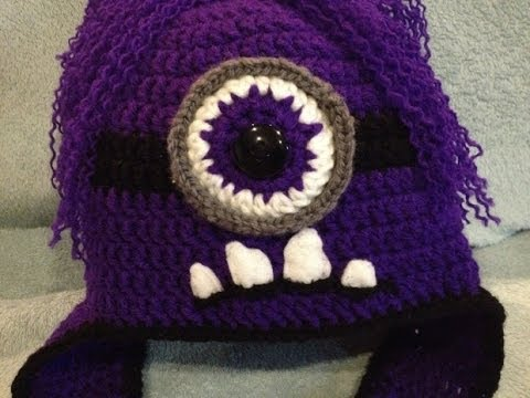 Large Minion Eye Crochet Tutorial Step By Step Instructions Youtube